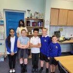 Liz visits Alderman Richard Hallam Primary School